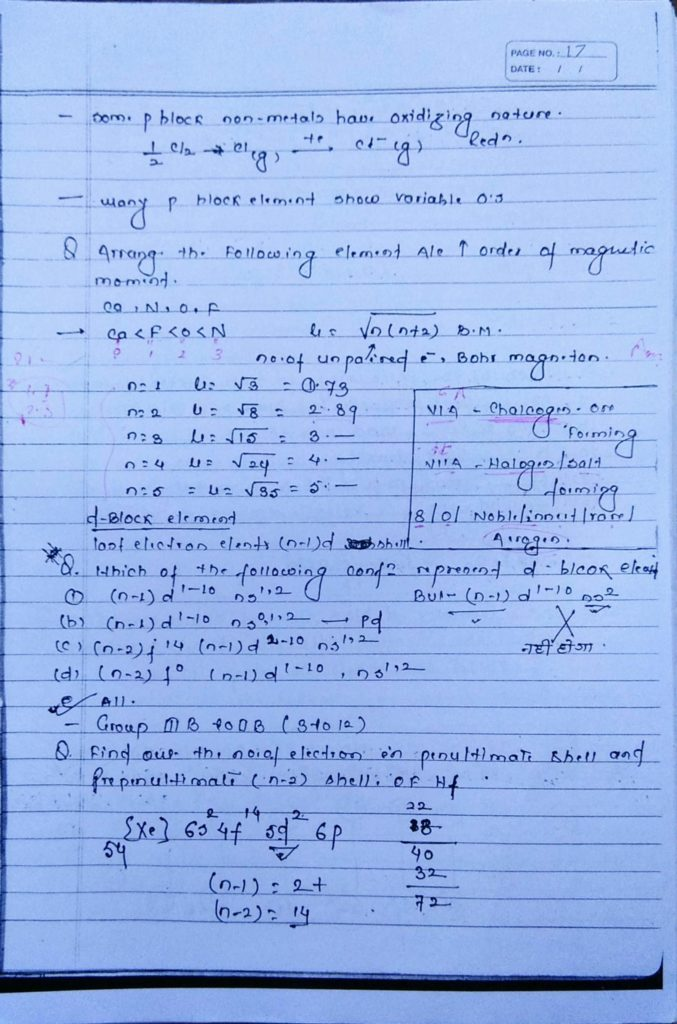 General inorganic chemistry (13)