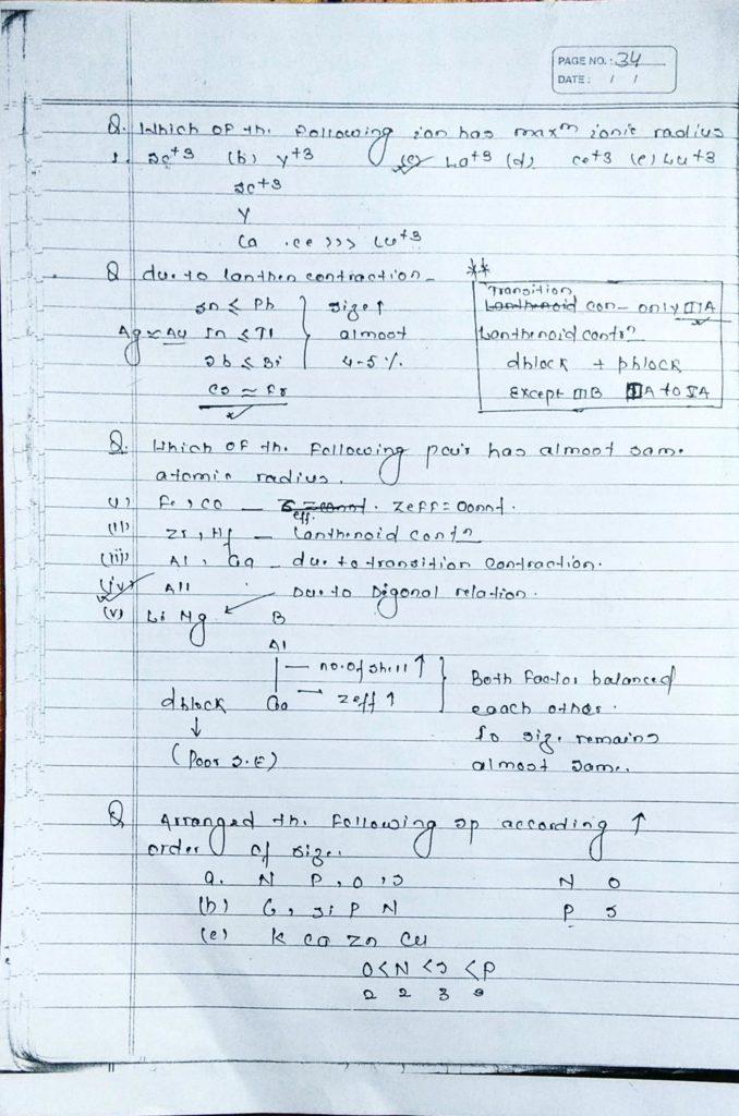 General inorganic chemistry (30)
