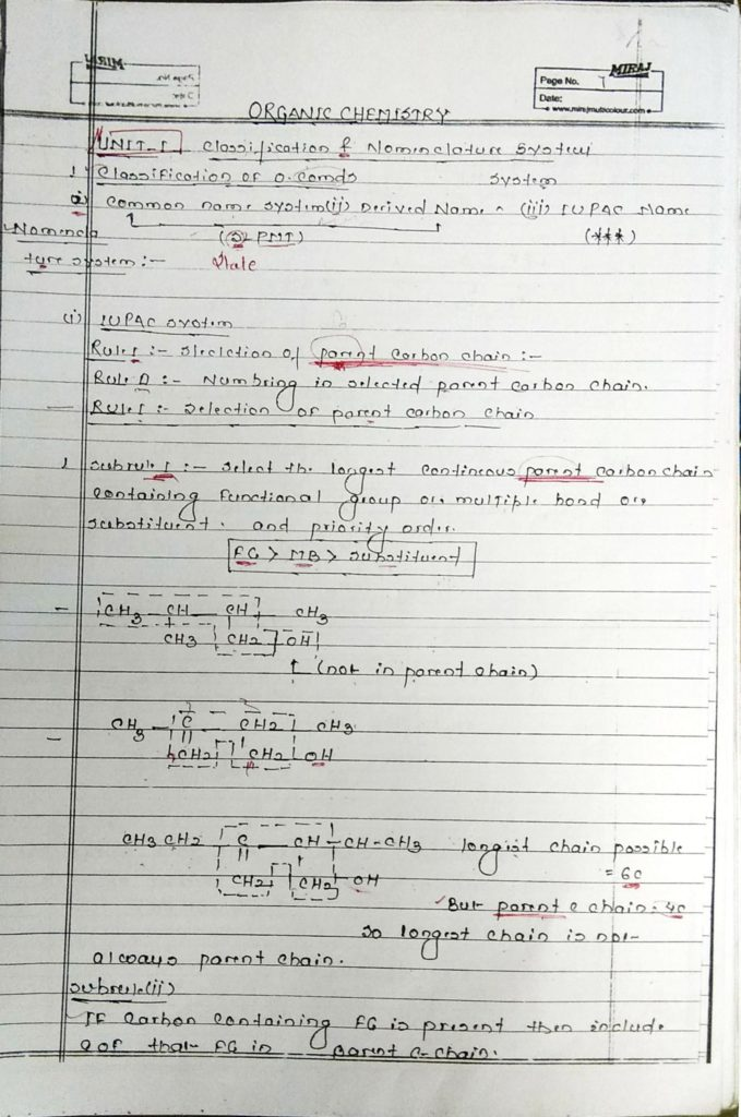 General organic chemistry (1)
