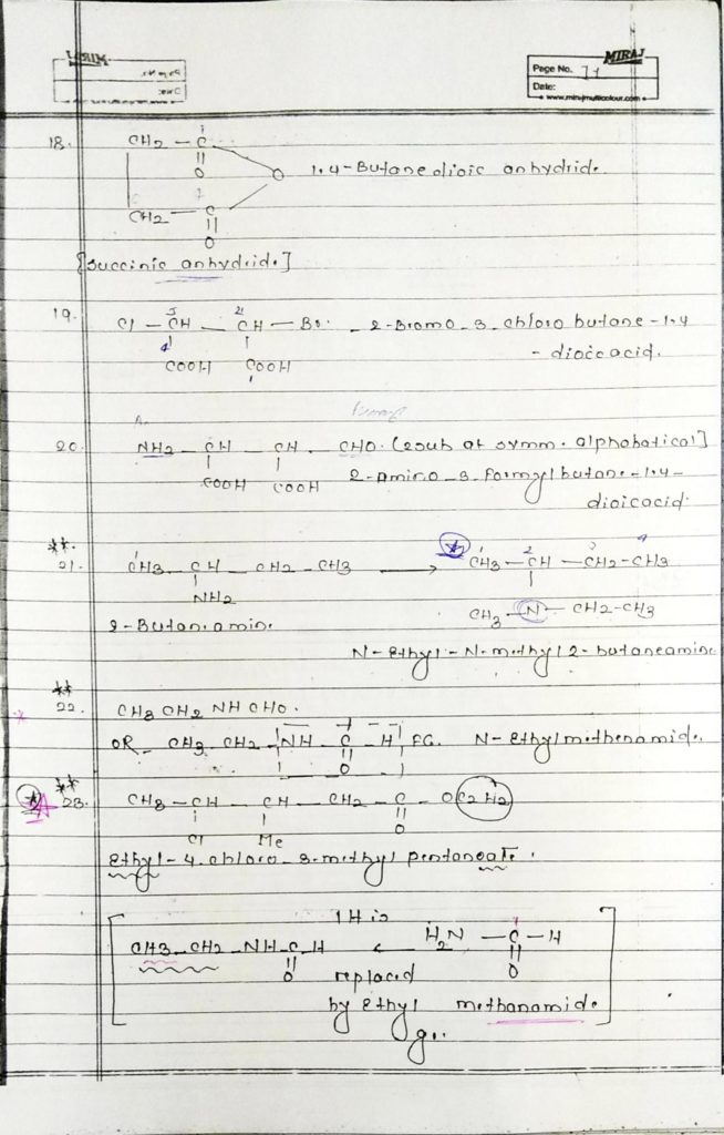 General organic chemistry (11)
