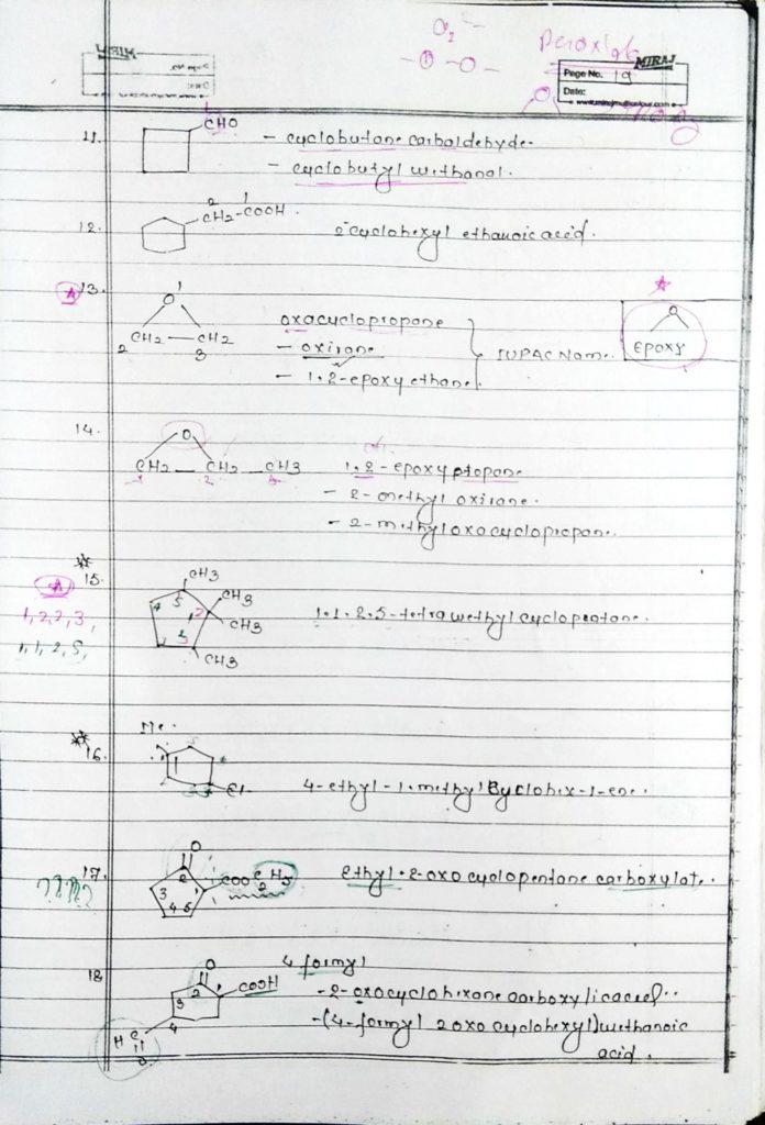 General organic chemistry (19)