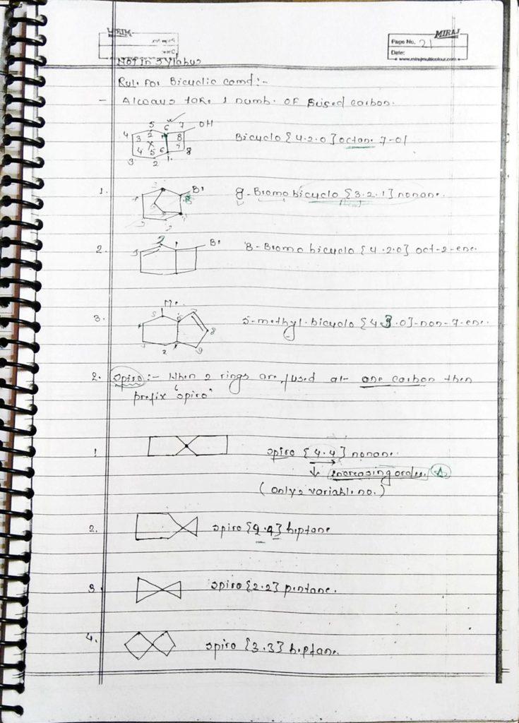 General organic chemistry (21)