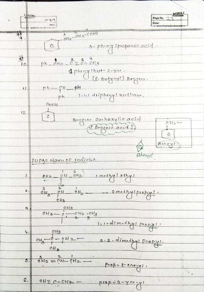 General organic chemistry (23)