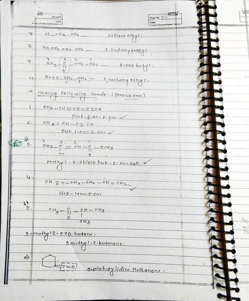General organic chemistry (24)