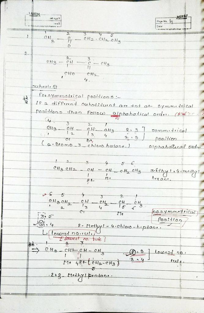 General organic chemistry (4)
