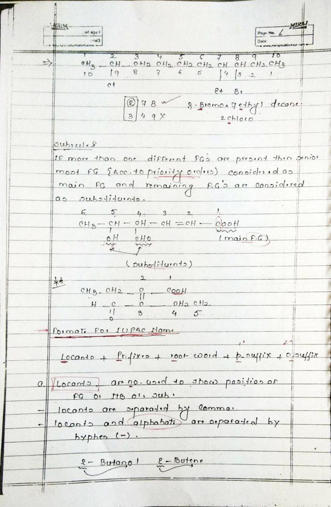 General organic chemistry (6)