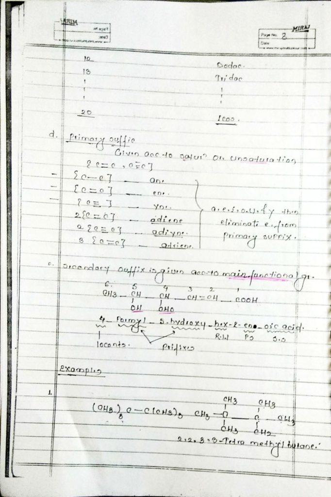 General organic chemistry (8)