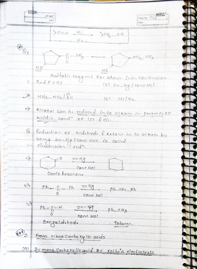 Hydrocarbon Alkane (12)