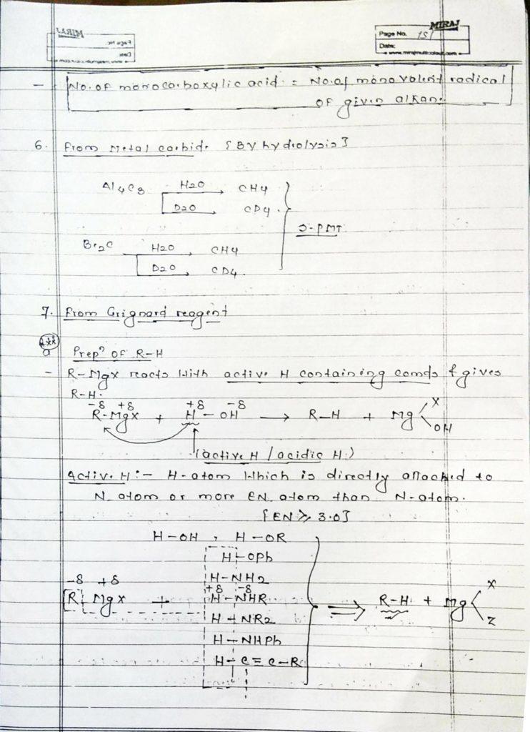 Hydrocarbon Alkane (17)