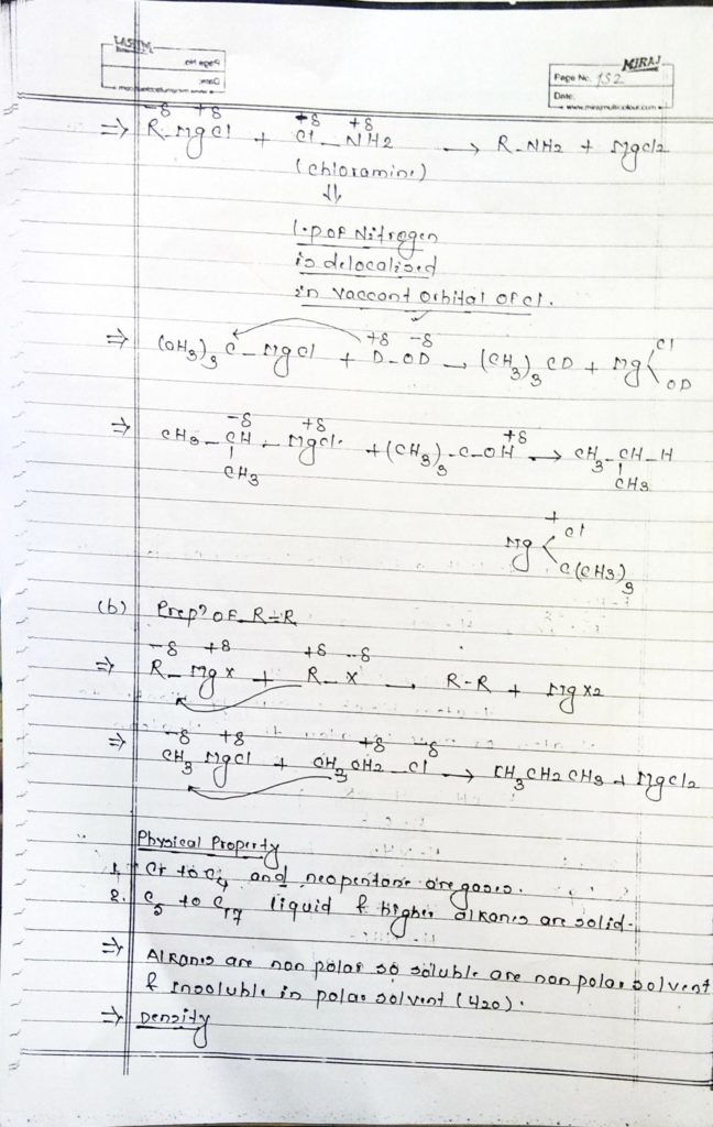 Hydrocarbon Alkane (18)