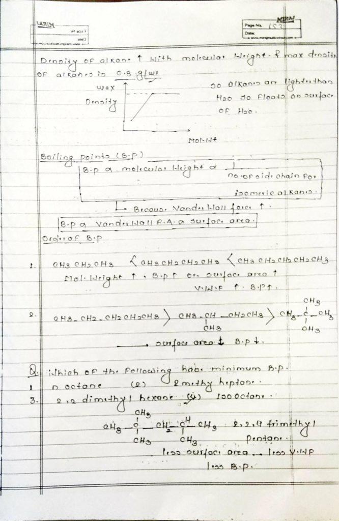 Hydrocarbon Alkane (19)