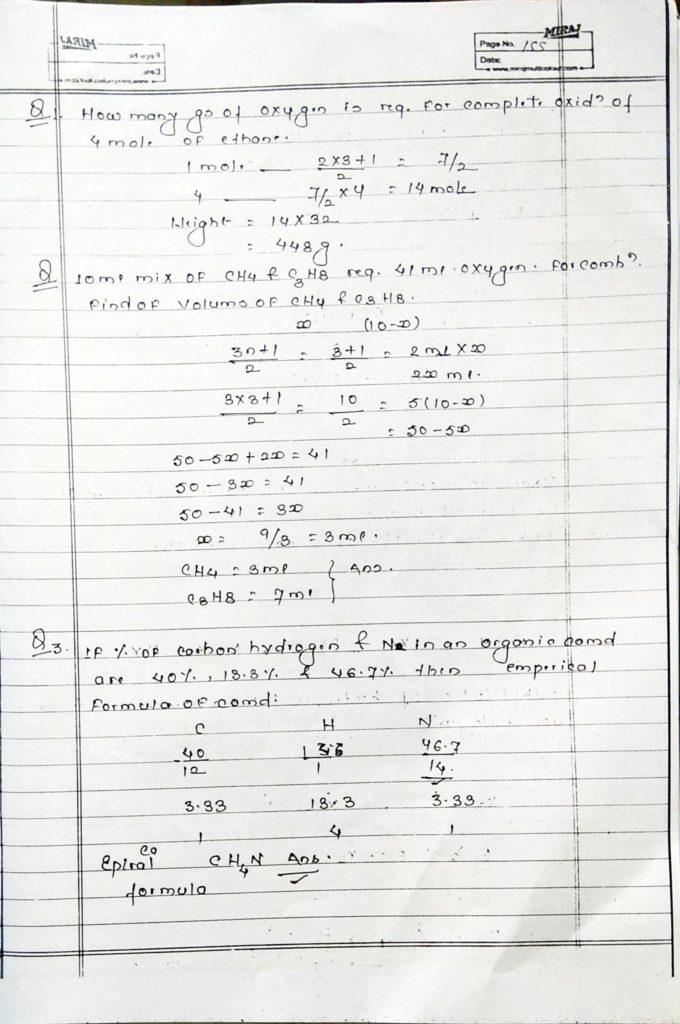 Hydrocarbon Alkane (21)