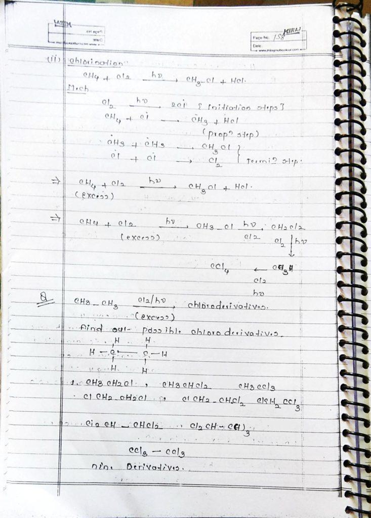 Hydrocarbon Alkane (24)