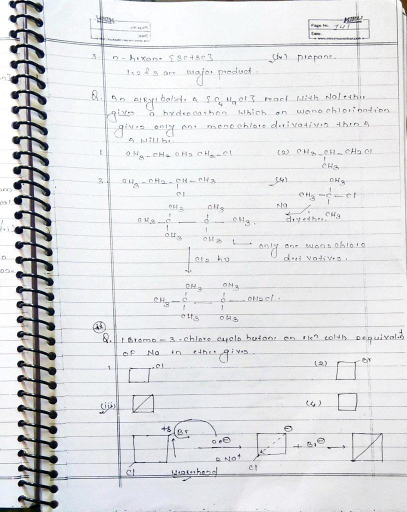 Hydrocarbon Alkane (7)