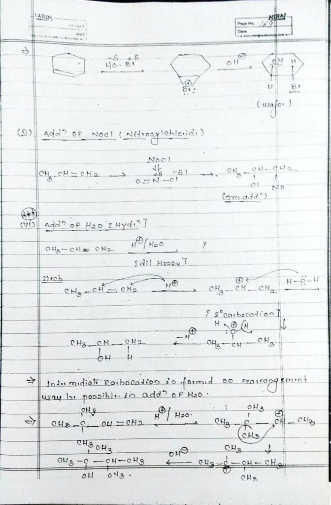 Hydrocarbon Alkene (10)