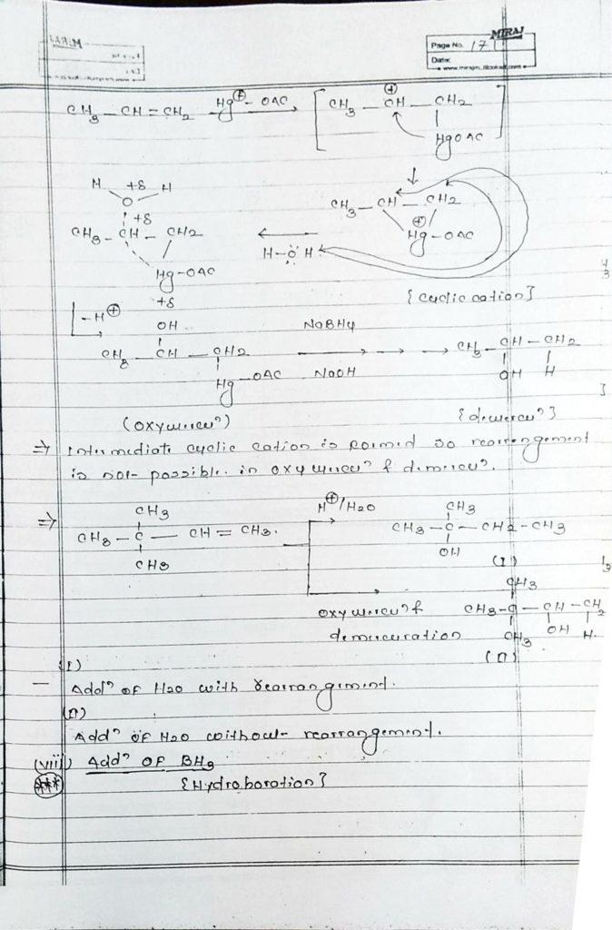 Hydrocarbon Alkene (12)