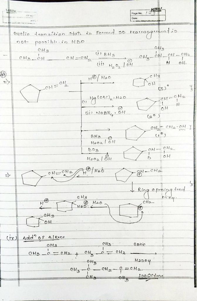 Hydrocarbon Alkene (14)