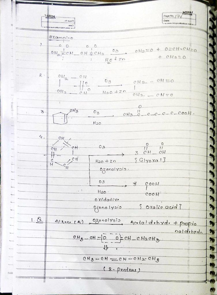 Hydrocarbon Alkene (17)