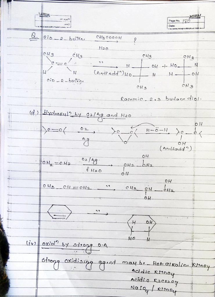 Hydrocarbon Alkene (21)
