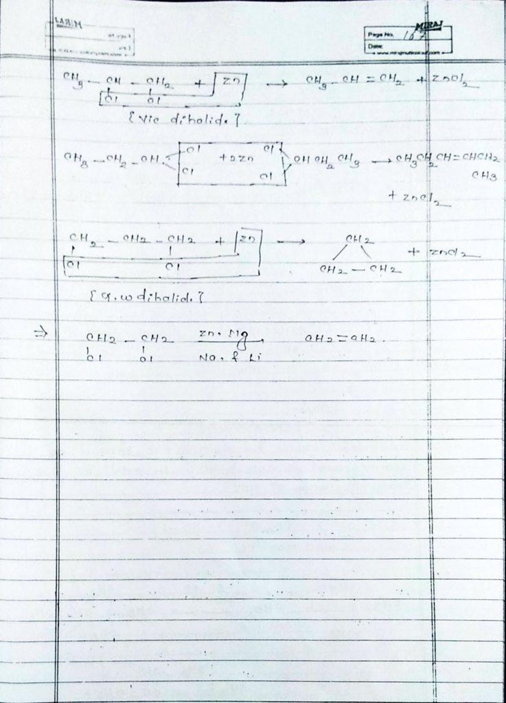 Hydrocarbon Alkene (8)