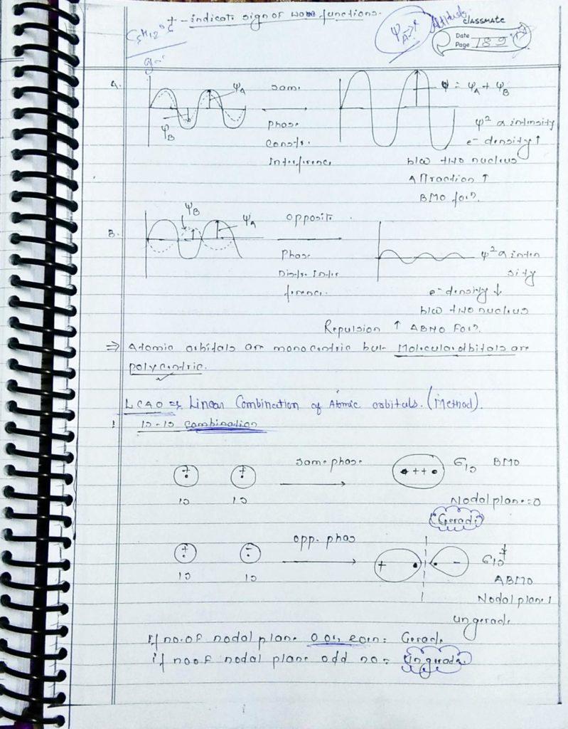chemical bonding molecular orbital theory (2)