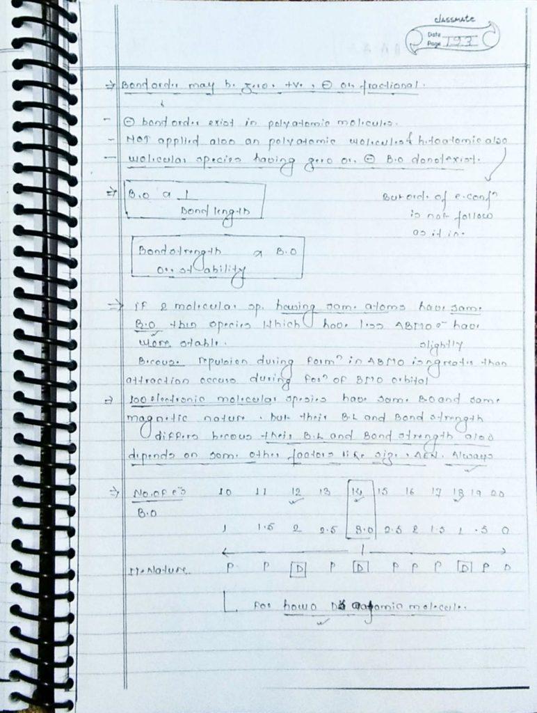 chemical bonding molecular orbital theory (6)
