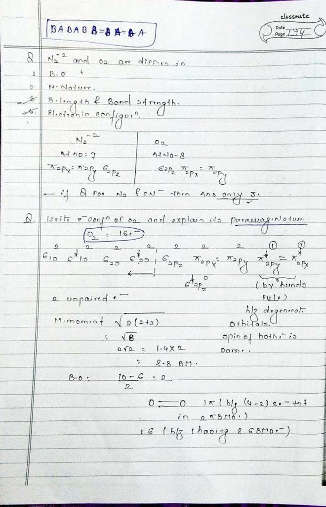 chemical bonding molecular orbital theory (7)