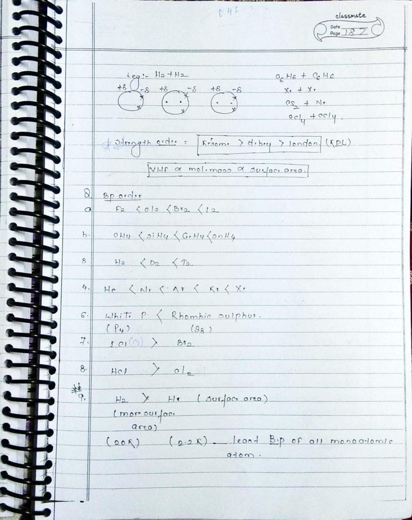 chemical bonding weak intermolecular interactions (3)
