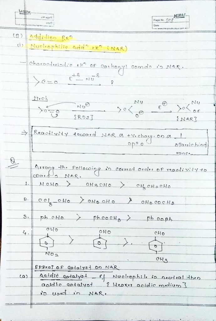 hydrocarbon derivatives addition reaction (1)