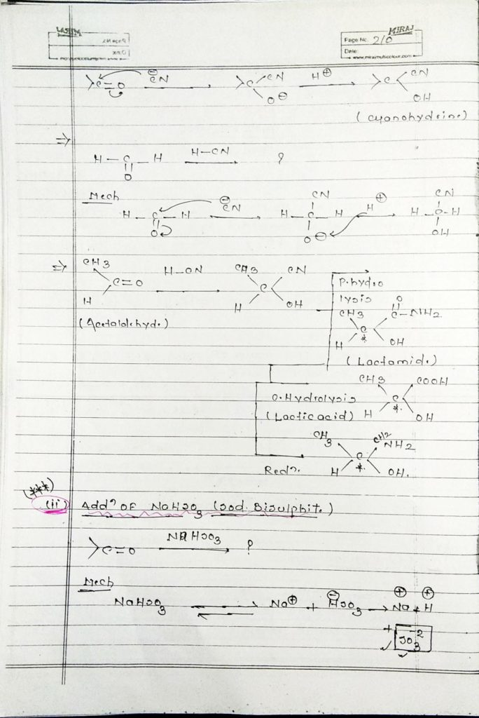 hydrocarbon derivatives addition reaction (3)