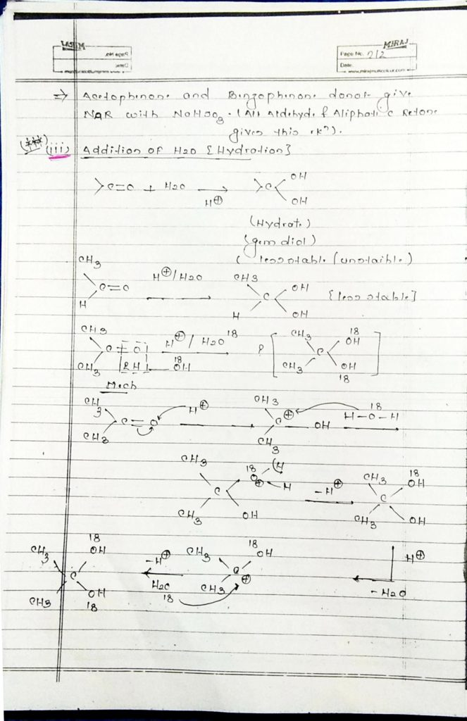 hydrocarbon derivatives addition reaction (5)