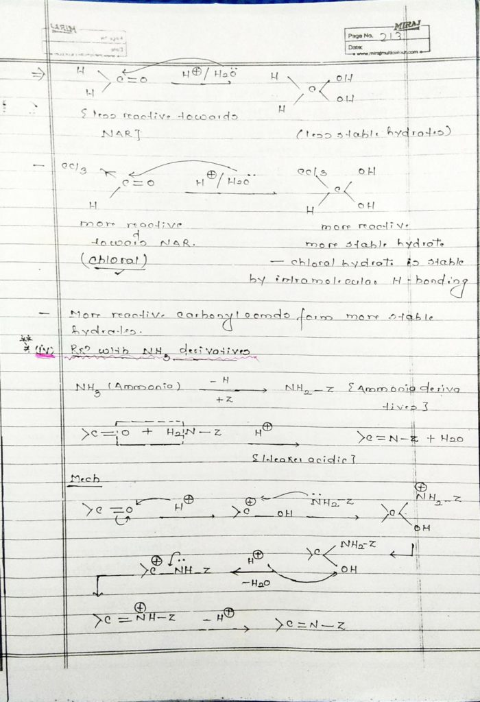 hydrocarbon derivatives addition reaction (6)