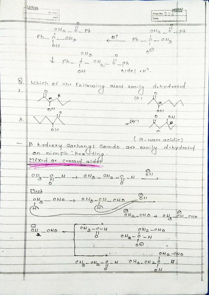 hydrocarbon derivatives special reaction (11)