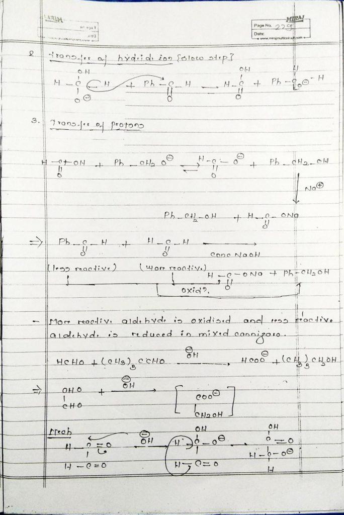 hydrocarbon derivatives special reaction (15)