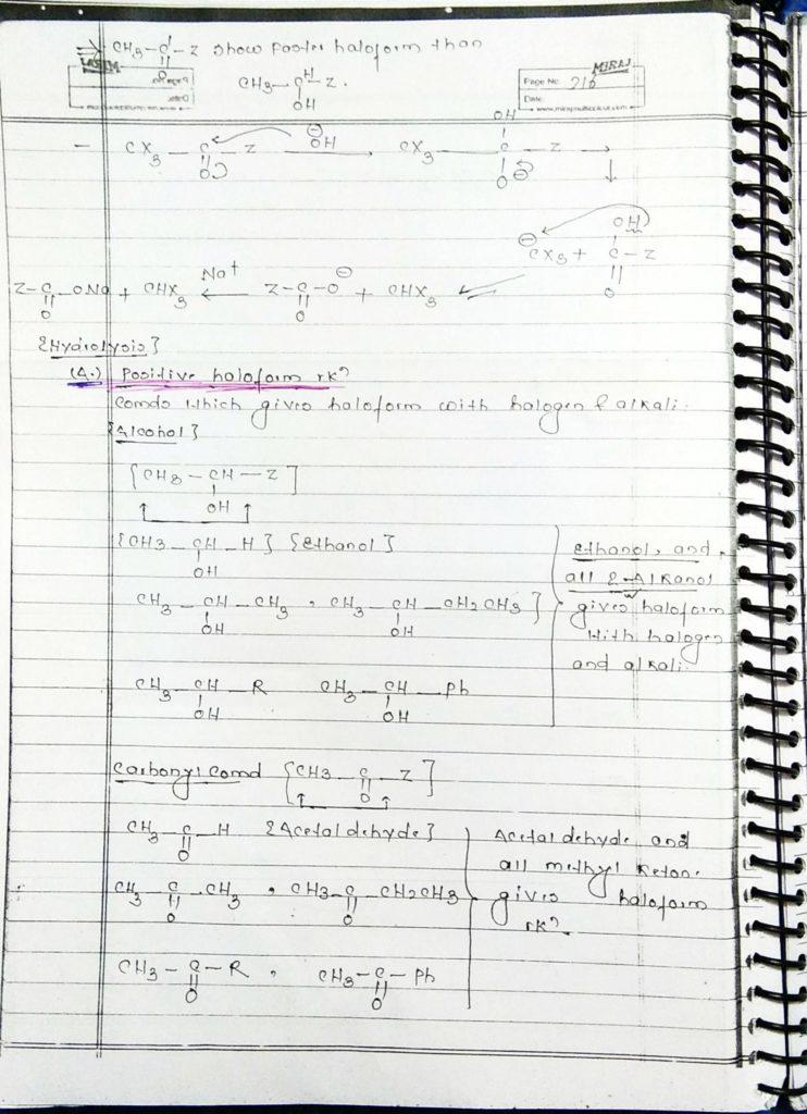 hydrocarbon derivatives special reaction (2)