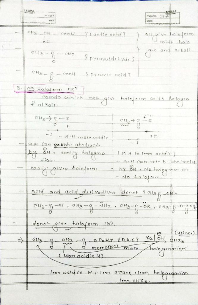 hydrocarbon derivatives special reaction (3)