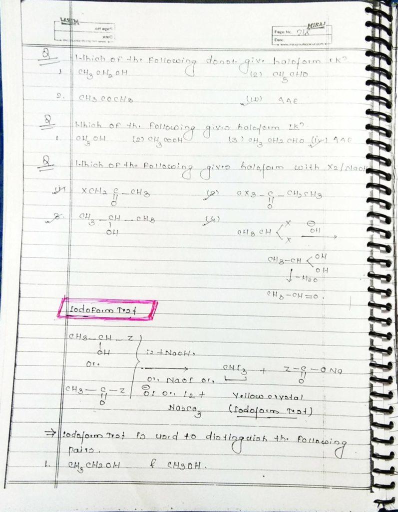 hydrocarbon derivatives special reaction (4)