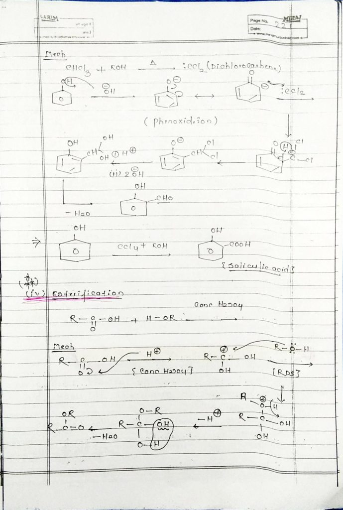 hydrocarbon derivatives special reaction (7)