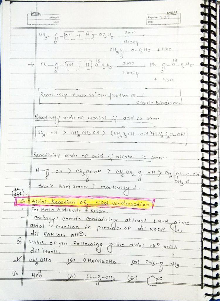 hydrocarbon derivatives special reaction (8)