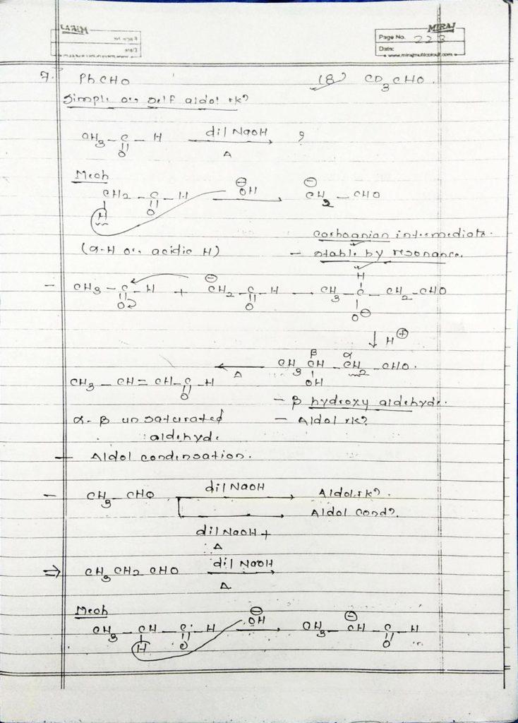 hydrocarbon derivatives special reaction (9)