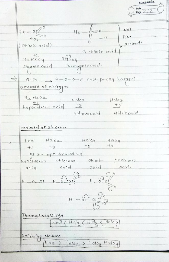 inorganic chemistry oxyacid (4)