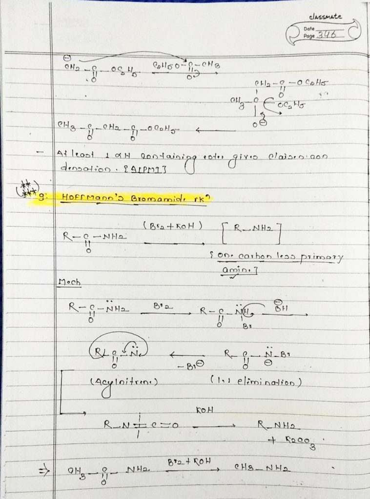 organic chemistry special reactions part 2 (2)