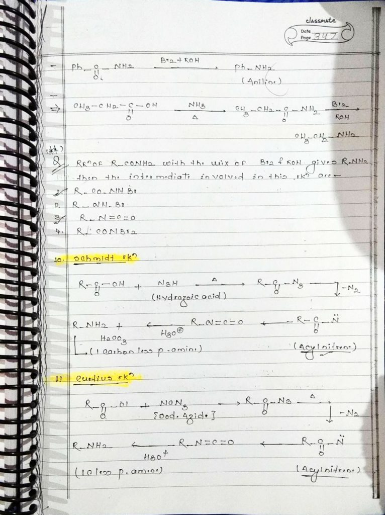 organic chemistry special reactions part 2 (3)