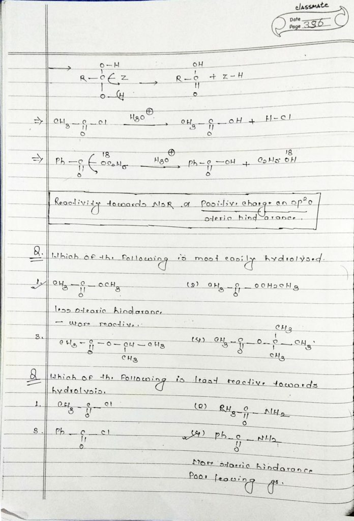 organic chemistry special reactions part 4 (2)