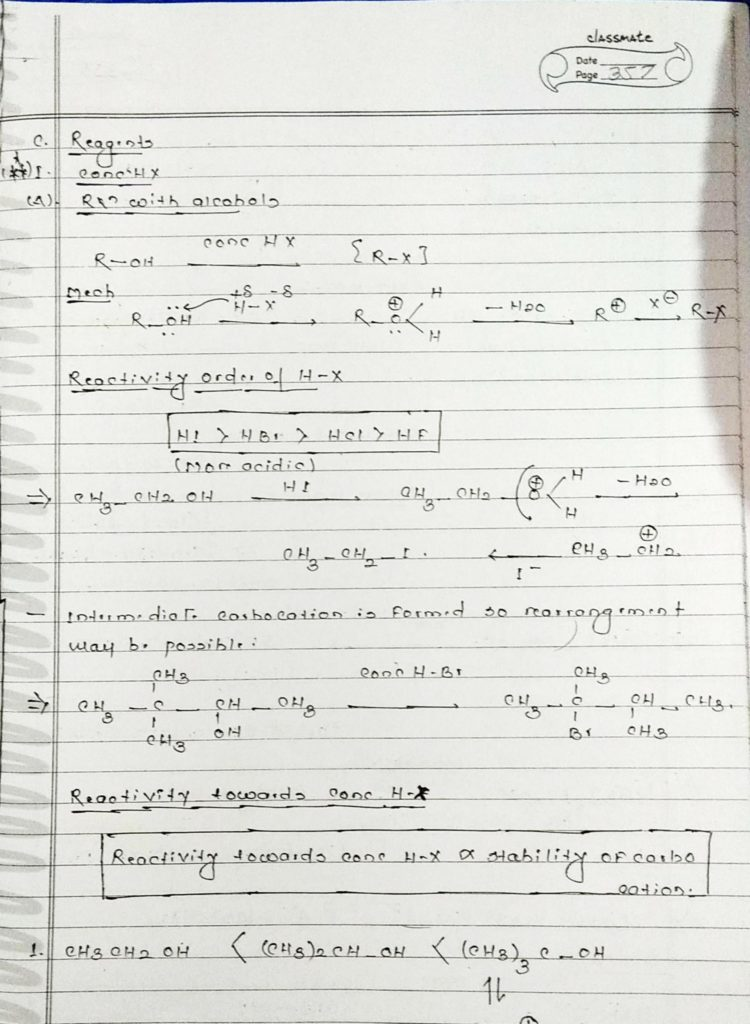 organic chemistry special reactions part 4 (3)