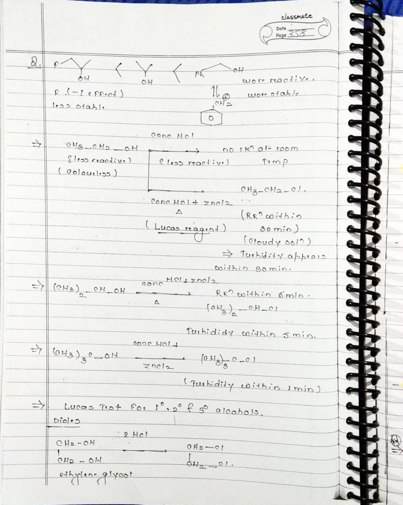 organic chemistry special reactions part 4 (4)