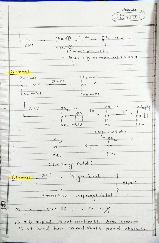 organic chemistry special reactions part 4 (5)