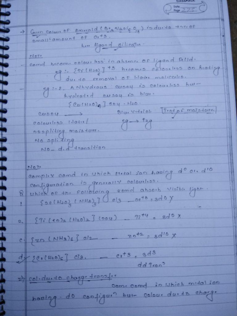 Coordination compound Color 3