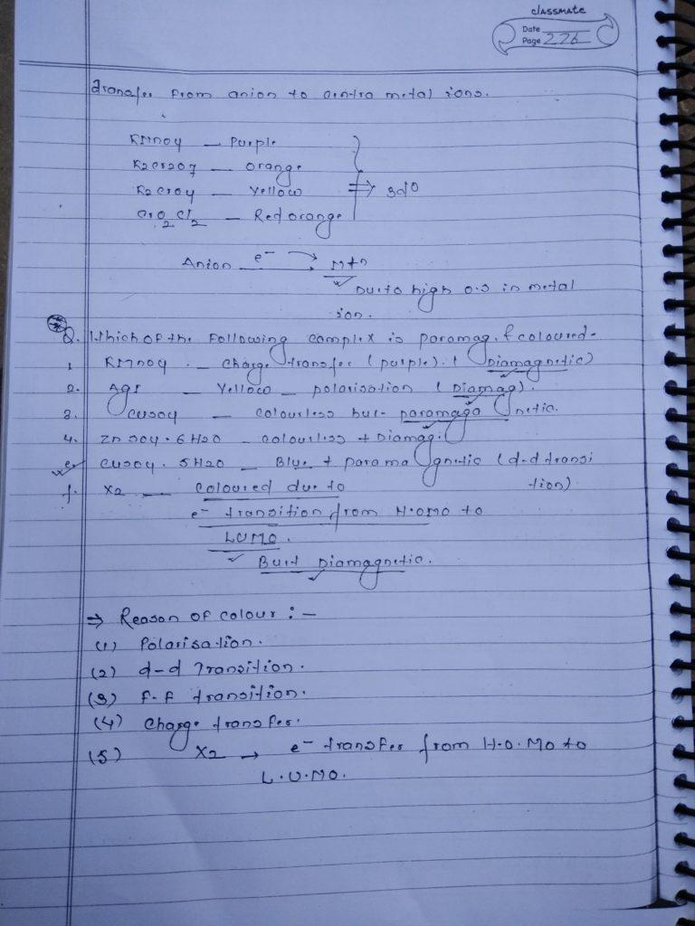 Coordination compound Color 4