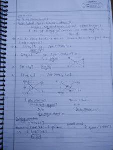 Coordination compound: isomerism1
